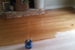 Quarter Saw Oak Flooring with Stain