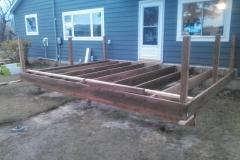 Trex Deck Framing