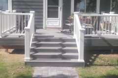 Trex Deck with Railings