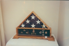 Shadow Box Flag Case